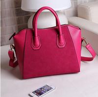 PU LEATHER BAGS 2014 HIGH QUALITY FASHION WOMEN BAGS CROSSBODY HANDBAGS TOTE FAHSION MESSAGE BAGS size:(30*29*11)cm HB03