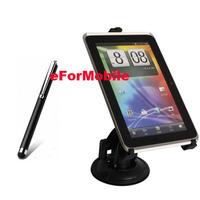 Mobile Phone Holder Universal Tablet Holder Tablet Stand Rotary Holder Car Holder + Tablet Pen For Samsung Galaxy Tab 7.7 P6800