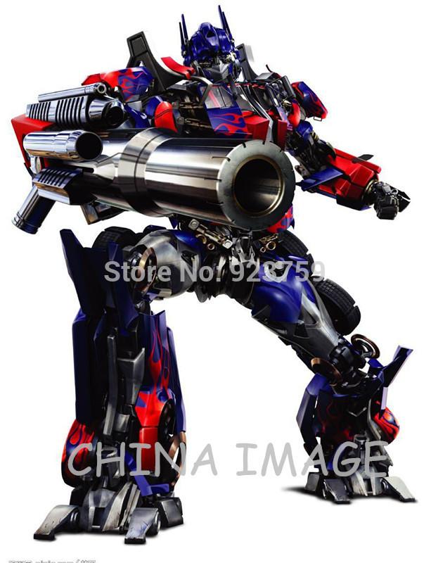 CHOOSE SIZE:OPTIMUS PRIME BIG GUN ATTACK Decal Removable WALL STICKER Home Decor Art Transformers(China (Mainland))