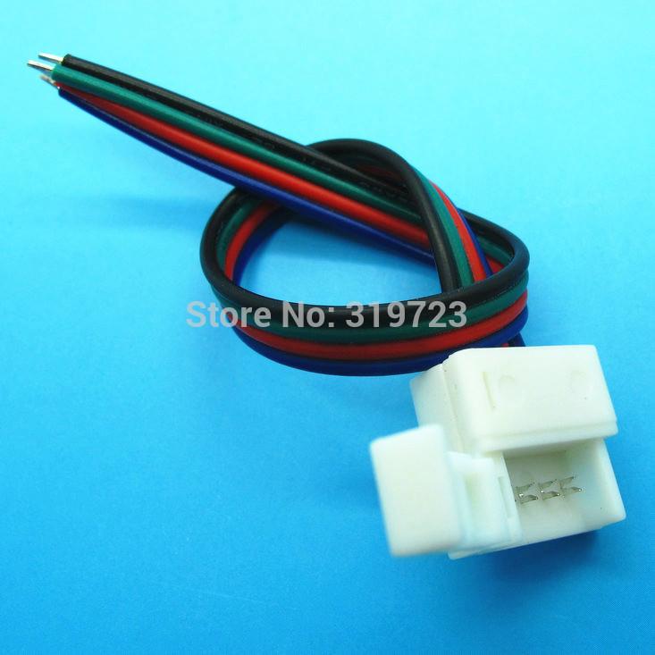 Разъем MIZ 10 4PIN SMD5050 rgb, 100pcs/lot 5782 разъем jy led 20pcs lot x 10 4pin 4 rgb 5050 pcb fpc rgb x connector
