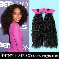 1 Bundle Malaysian Virgin Hair Kinky Curly Natural Black 6A Unprocessed Human Hair Weave Grace Hair Products Modern Show Hair