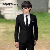 Autumn suit single male version of the small suit jacket fashion casual suit male slim