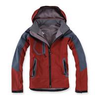 Free shipping 2014 Outdoor Waterproof Fashion Men's Fleece Soft Shell Sports Coat Climbing Clothes Jacket m13