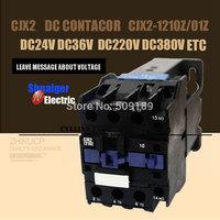 DC Operated AC Contactor LP1 CJX2-1210Z 1201Z  CJX2(LP1)    Operated AC Contactor DC220V DC110V DC24V