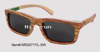 splicing wood sunglasses
