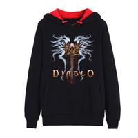 Diablo fleece Long sleeve blouse Game COS your Coat Free shipping