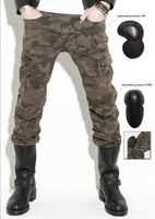 Free shipping uglyBROS ubs07 camo pants motorcycle pants jeans casual jeans + Anti-fall protection equipment