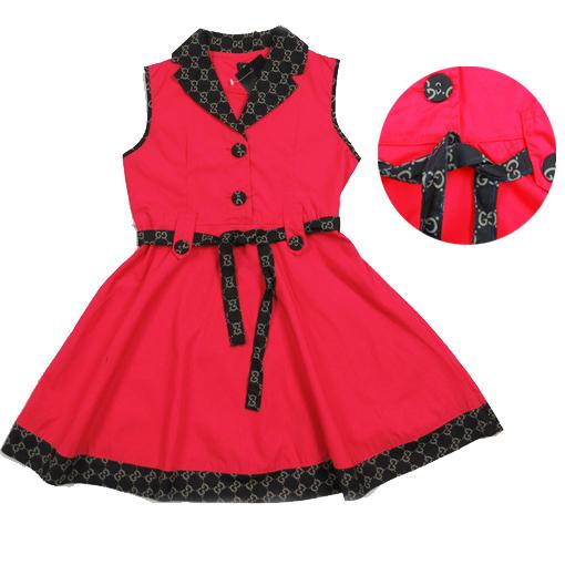 Girls Designer Clothes For Sale Sleeveless baby girls dress