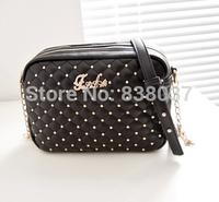 2014 new fashionable handbags Lingge chain bag shoulder diagonal packet