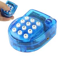 High quality QL-2008 Phone Genius Mini Handsfree Telephone Size 57 x 46 x 26mm Blue