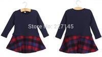 dropship sweety fashion  autumn winter children girl long-sleeve thick cotton coat jacket  princess dress kid clothes
