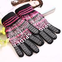 120 pair-Wholesale  New winter fashion men warm knitted gloves hot spider pattern thickening warm gloves