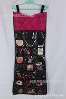 X153 dress shape [ jewelry ] Guadai transparent waterproof non-woven jewelry jewelry pouch Bag close
