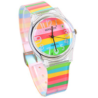 NEW brand Willis women watches casual quartz  jelly watch candy color child watch fashion Wristwatches Christmas Gifts