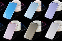 For iPhone 6 plus 0.3mm Ultra thin crystal clear slim soft TPU case cover for iPhone 6 4.7 for iPhone 5 for Samsung S4 S5 N7100