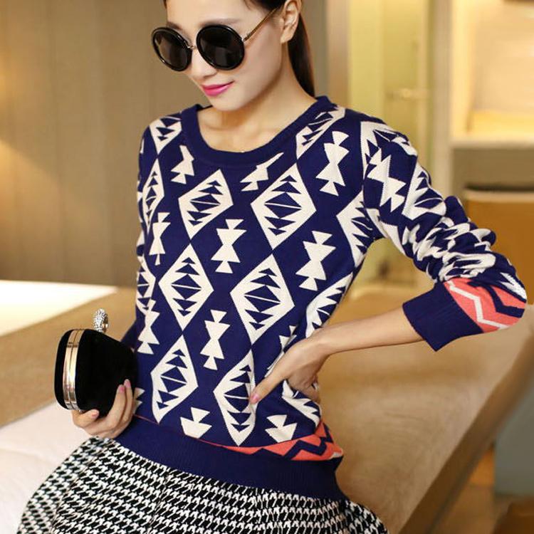 Женский пуловер Cardigans sweater 2015 o