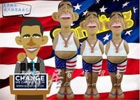 NEW 1 pcs Funny novelty toys,the latest screams Barack Obama.