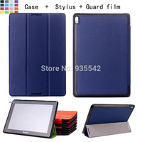 YS02 For Lenovo IdeaTab A10-70 10.1-Inch A10 A7600 10'' Tablet Ultra Slim Lightweight Smart-shell Folding Stand Case Cover HK