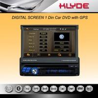 7 Inch 1 Din Universal Car DVD,3G,WIFI,TV,GPS Navigation,Radio Player,Free WIFI Dongle