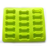 15-cavity Dog Bone Pet Cake Mold Mould Soap Mold Silicone Mold Flexible Mold 1pc