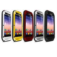 Original LoveMei three anti metal Protection Case For Huawei ascend p7 waterproof dustproof Shockproof Cover For Huawei P7 Phone
