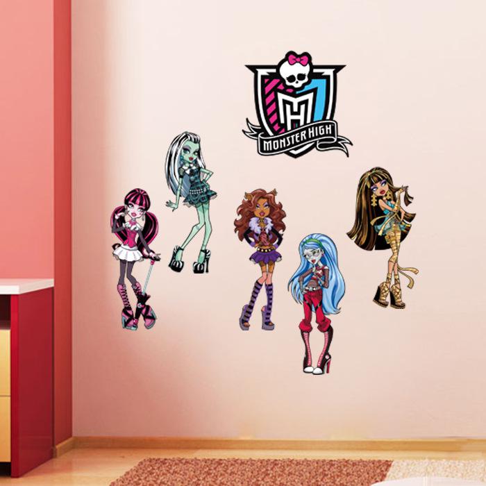 Kinderzimmer Tapeten Monster High : Monster High Wall Decor