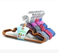 Free shipping coat hanger,kids clothes-horse, baby clothes drying rack,magic hanger,10pcs/lot,wholesale