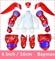 Hot Sale Christmas High Quality Big Hero 6 Baymax PVC Robot Doll Large Ultra Baby Classic Toys Free Shipping