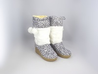 Specials! Russian export trade of the original single leopard fashion snow boots