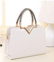 2015 Factory Direct Freeshipping Unisex Plaid Polyester Sales of New Summer Package Korean Handbag Across Temperament Female Bag