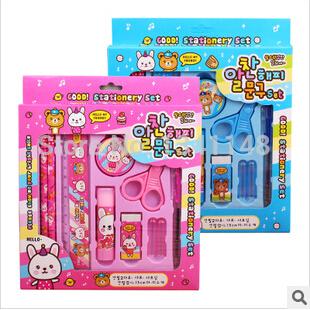 канцелярский-набор-подарочная-коробка-100sets-10-1-stationery-set