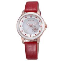 2015 SKONE New Watch Women Dress Fashion Casual Genuine Leather Strap Analog Quartz Watches