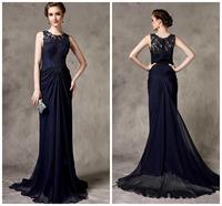Long Evening Dress 2014 New Arrival Formal Dresses Beading Black Mother of the Bride Dresses Evening Dresses vestido de festa