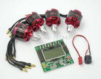 4pcs/lot DJI 2212 920KV Brushless Motor + KK2.15 LCD Flight Control Board