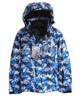 [ Children ] new children's outdoor outdoor waterproof ski suit ski clothing multicolor election 128-164