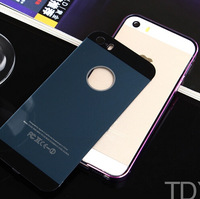 DHL50 Pcs/lot Free Shipping+New arrive TDYD metal Bumper  + cover for 5/5s,Ultrathin metal case ,8 color