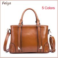 In Stock!!5 Colors Hot Sale New 2015 Fashion Brand Women Handbag Leather Shoulder Bags Women Messenger Bags Bolsas