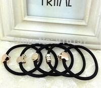 Lovely  cartoon  Hair Band Hair Jewelry Hair Rope Headwear Elastic Hair Accessories with heart /crown free shipping