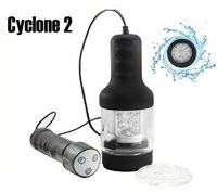 Free Shipping Japanese Rends R-1 A10 Cyclone 2 Flesh Light Attachment With Controller Rends Sex Toy For Men masturbator