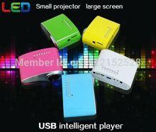 nuevo 200 lúmenes 3d proyector llevado zoom eléctrico vídeo portátil pico mini proyector pequeño micro hdmi usb sintonizador de tv av vga trípode(China (Mainland))