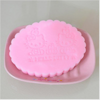 Hello Kitty washing face spong Girls face Cleanser super smooth face make up tool