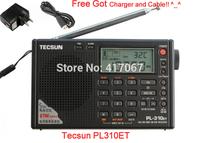 Original Tecsun PL310ET Digital FM Radios Plus Chargers FM AM MW SW LW DSP Receiver World Band Stereo Radio PL-310