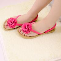 women's shoes hot-selling slip-resistant flower flip slippers two ways