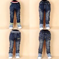 4 Color Boys Pants Boys Denim calca Jeans Pants Straight Children's Clothing Kids Boys Jeans Trousers Infantil Pure Cotton WB-5