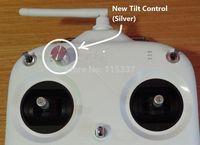 2014 Newest DJI Phantom Silver Remote Tilt Pitch Control Knob slide lever for H3-2D 3D, Vision +