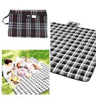 "1Pcs 39.4 x 59""/47.2 x 59"" Waterproof Backing Outdoor Picnic Rug Mat Beach Camping Baby Climb Plaid Blanket Camping Bag QB671821"