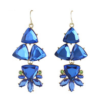 2014 Fashion Created Gemstone Vintage Style Drop Dangle Earrings From India For Women