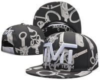 New arrival 2015 TMT The Money Team Snapback caps & hats money face cards key fashion men women sports hat  hot sale !