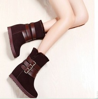 New MOOLE increased comfort within the new winter 8978 women's boots suede England woman winter snow boot