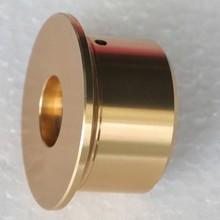 Diameter 50 mm height 27 mm Straw hat golden aluminum knob/Volume knobs /HiFi audio parts/Accessories